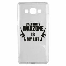 Чехол для Samsung A5 2015 Call of duty warzone is my life M4A1