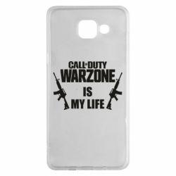 Чехол для Samsung A5 2016 Call of duty warzone is my life M4A1