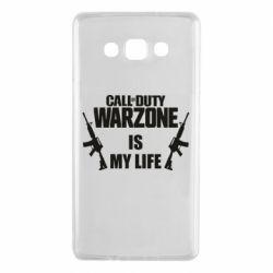 Чехол для Samsung A7 2015 Call of duty warzone is my life M4A1