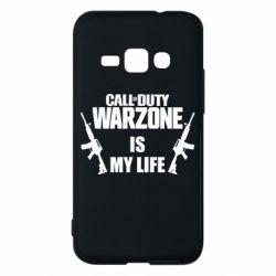 Чехол для Samsung J1 2016 Call of duty warzone is my life M4A1