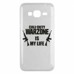 Чехол для Samsung J3 2016 Call of duty warzone is my life M4A1