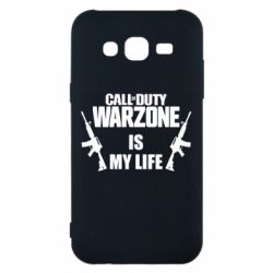Чехол для Samsung J5 2015 Call of duty warzone is my life M4A1
