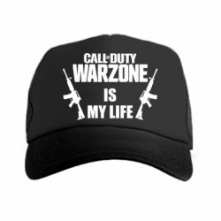 Кепка-тракер Call of duty warzone is my life M4A1