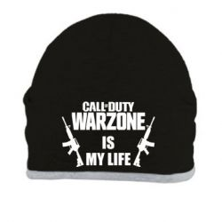 Шапка Call of duty warzone is my life M4A1