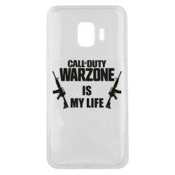 Чехол для Samsung J2 Core Call of duty warzone is my life M4A1