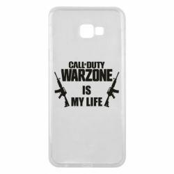 Чехол для Samsung J4 Plus 2018 Call of duty warzone is my life M4A1
