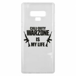 Чехол для Samsung Note 9 Call of duty warzone is my life M4A1