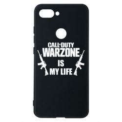 Чехол для Xiaomi Mi8 Lite Call of duty warzone is my life M4A1
