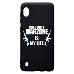 Чехол для Samsung A10 Call of duty warzone is my life M4A1