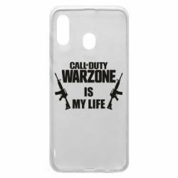 Чехол для Samsung A30 Call of duty warzone is my life M4A1