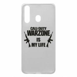 Чехол для Samsung A60 Call of duty warzone is my life M4A1