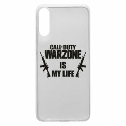 Чехол для Samsung A70 Call of duty warzone is my life M4A1
