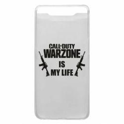 Чехол для Samsung A80 Call of duty warzone is my life M4A1