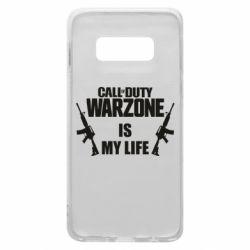 Чехол для Samsung S10e Call of duty warzone is my life M4A1