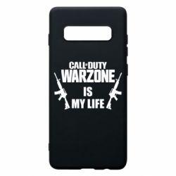 Чехол для Samsung S10+ Call of duty warzone is my life M4A1