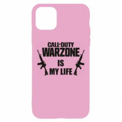 Чехол для iPhone 11 Call of duty warzone is my life M4A1