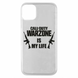 Чехол для iPhone 11 Pro Call of duty warzone is my life M4A1