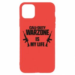 Чехол для iPhone 11 Pro Max Call of duty warzone is my life M4A1
