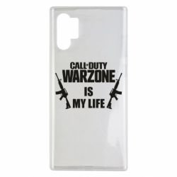 Чехол для Samsung Note 10 Plus Call of duty warzone is my life M4A1