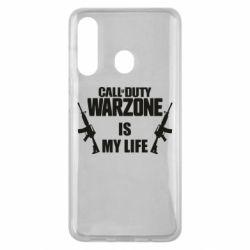 Чехол для Samsung M40 Call of duty warzone is my life M4A1