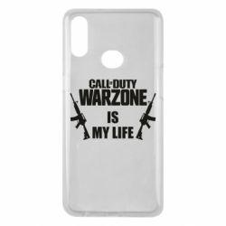 Чехол для Samsung A10s Call of duty warzone is my life M4A1