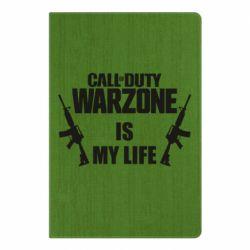 Блокнот А5 Call of duty warzone is my life M4A1
