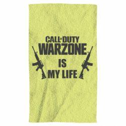 Полотенце Call of duty warzone is my life M4A1