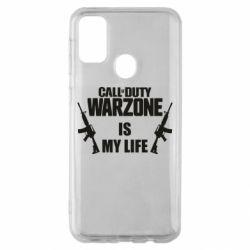 Чехол для Samsung M30s Call of duty warzone is my life M4A1