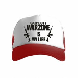 Детская кепка-тракер Call of duty warzone is my life M4A1