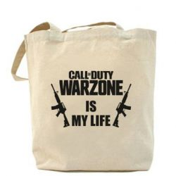 Сумка Call of duty warzone is my life M4A1