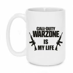 Кружка 420ml Call of duty warzone is my life M4A1