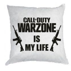 Подушка Call of duty warzone is my life M4A1