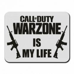 Коврик для мыши Call of duty warzone is my life M4A1