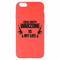 Чехол для iPhone 6 Plus/6S Plus Call of duty warzone is my life M4A1