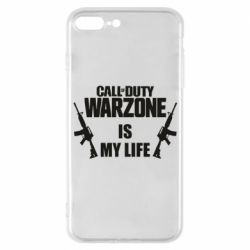 Чехол для iPhone 7 Plus Call of duty warzone is my life M4A1