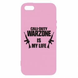 Чехол для iPhone5/5S/SE Call of duty warzone is my life M4A1