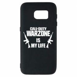 Чехол для Samsung S7 Call of duty warzone is my life M4A1