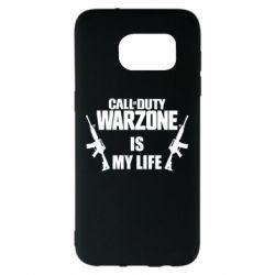 Чехол для Samsung S7 EDGE Call of duty warzone is my life M4A1