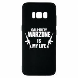 Чехол для Samsung S8 Call of duty warzone is my life M4A1