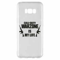 Чехол для Samsung S8+ Call of duty warzone is my life M4A1