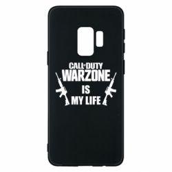 Чехол для Samsung S9 Call of duty warzone is my life M4A1