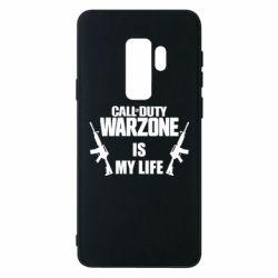 Чехол для Samsung S9+ Call of duty warzone is my life M4A1