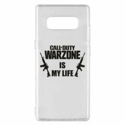 Чехол для Samsung Note 8 Call of duty warzone is my life M4A1