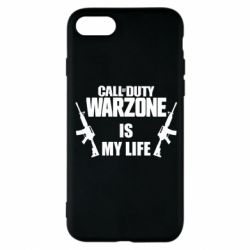 Чехол для iPhone 8 Call of duty warzone is my life M4A1