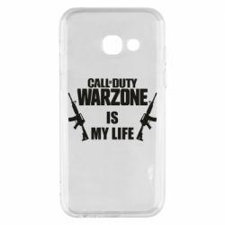 Чехол для Samsung A3 2017 Call of duty warzone is my life M4A1
