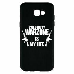 Чехол для Samsung A7 2017 Call of duty warzone is my life M4A1