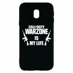 Чехол для Samsung J3 2017 Call of duty warzone is my life M4A1