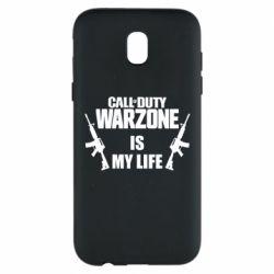 Чехол для Samsung J5 2017 Call of duty warzone is my life M4A1