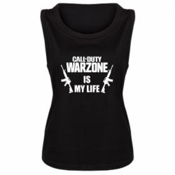 Женская майка Call of duty warzone is my life M4A1