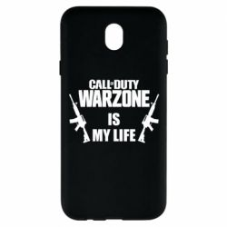 Чехол для Samsung J7 2017 Call of duty warzone is my life M4A1
